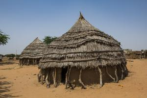 Traditional Hausa village, southern Niger by Michael Runkel
