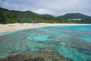 Turquoise waters on Furuzamami Beach, Zamami Island, Kerama Islands, Okinawa, Japan, Asia by Michael Runkel