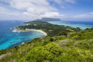 View from Malabar Hill over Lord Howe Island by Michael Runkel