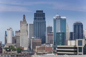 View from the Liberty Memorial over Kansas City, Missouri, United States of America, North America by Michael Runkel