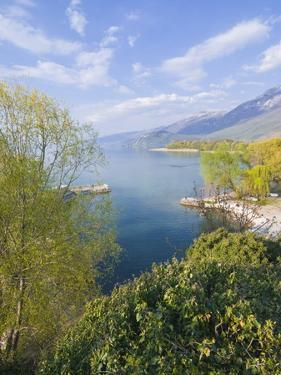 View From the Monastery of St. Naum at Lake Ohrid, UNESCO World Heritage Site, Macedonia, Europe by Michael Runkel