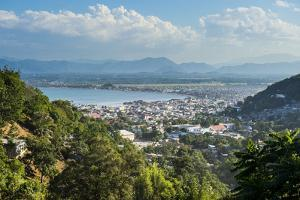 View over Cap Haitien, Haiti, Caribbean, Central America by Michael Runkel