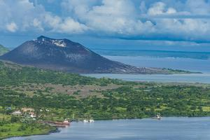 View over Rabaul, East New Britain, Papua New Guinea, Pacific by Michael Runkel