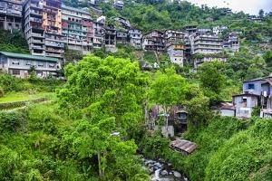 View over the Town of Banaue, Northern Luzon, Philippines, Southeast Asia, Asia by Michael Runkel