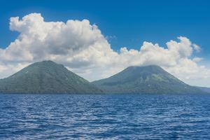 Volcano Tavurvur, Rabaul, East New Britain, Papua New Guinea, Pacific by Michael Runkel