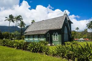 Wai'Oli Hui'Ia Church in Hanalai on the Island of Kauai, Hawaii, United States of America, Pacific by Michael Runkel