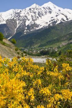 Wonderful Mountain Scenery of Svanetia, Georgia by Michael Runkel