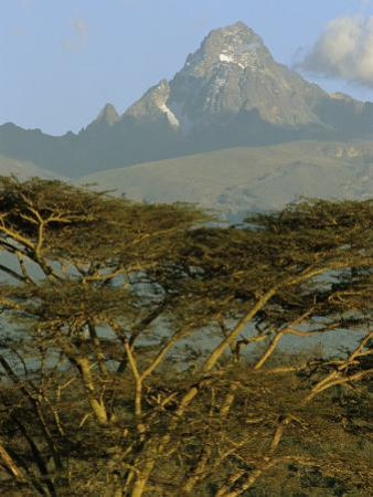 A View of Mount Kenya from Near Karatina by Michael S. Lewis