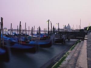 Gondolas, Venice, Italy by Michael S. Lewis