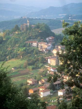Small Hill Town in the Eastern Piemonte, Italy by Michael S. Lewis