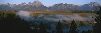 Snake River and the Tetons at Sunrise by Michael S. Lewis