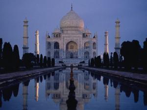 Taj Mahal at Sunrise, Agra, India by Michael S. Lewis