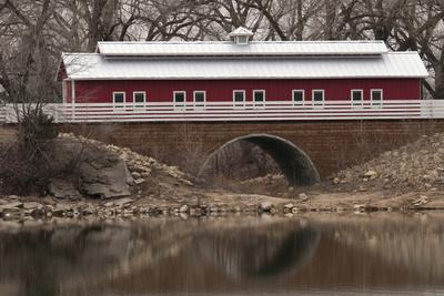 Train Bridge, Kansas, USA