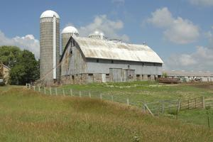 USA, Minnesota, Minnesota Barn. by Michael Scheufler
