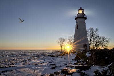 Marblehead Lighthouse Sunrise by Michael Shake