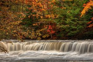 Quarry Rock Falls by Michael Shake