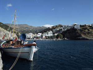 Agia Galini, South Coast, Crete, Greek Islands, Greece by Michael Short