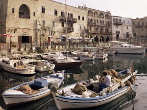Fishing Boats, Kyrenia, North Cyprus, Cyprus by Michael Short