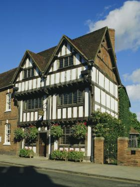 New Place, Stratford-Upon-Avon, Warwickshire, England, UK, Europe by Michael Short