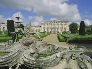 Quelez Palace, Lisbon, Portugal by Michael Short