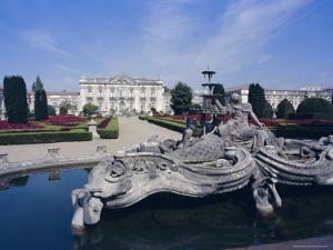 Royal Palace of Queluz, Near Lisbon, Portugal, Europe by Michael Short