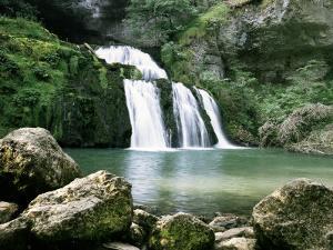 Source Du Lison, Jura, Franche-Comte, France by Michael Short