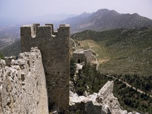 St. Hilarion Castle, North Cyprus, Cyprus by Michael Short