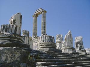 Temple of Apollo, Didyma, Anatolia, Turkey, Asia Minor, Asia by Michael Short