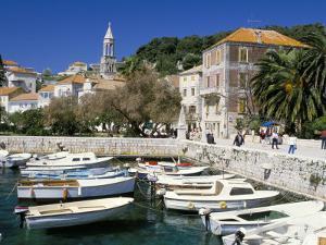 The Tiny Inner Harbour, Hvar Town, Croatia by Michael Short
