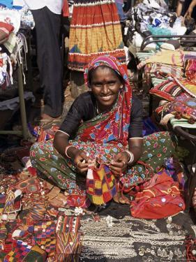 Woman in Market, Mapusa, Goa, India by Michael Short