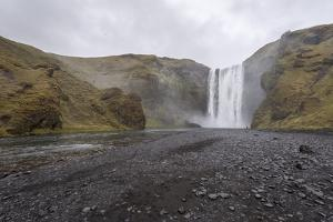 Skogafoss, Iceland, Polar Regions by Michael
