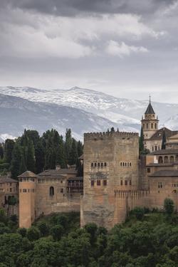 Alhambra, Granada, Province of Granada, Andalusia, Spain by Michael Snell