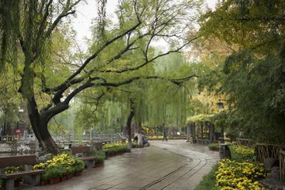 Baotu Spring Park, Jinan, Shandong province, China, Asia by Michael Snell