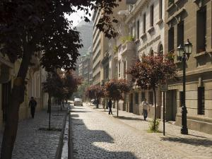 Barrio Paris-Londres, Santiago, Chile, South America by Michael Snell
