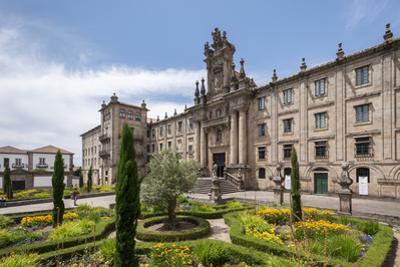 Casa De La Inmaculada, Santiago de Compostela, A Coruna, Galicia, Spain, Europe by Michael Snell