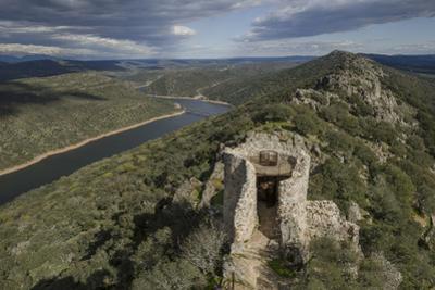 Castillo de Monfrague, Monfrague National Park (Parque Natural de Monfrague), Caceres, Extremadura, by Michael Snell