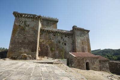 Castle of Pambre, Palas de Rei, Lugo, Galicia, Spain, Europe by Michael Snell