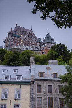 Chateau Frontenac, Quebec City, Province of Quebec, Canada, North America by Michael Snell