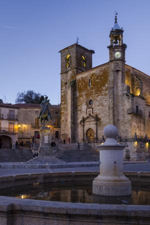 Church of San Martin, Trujillo, Caceres, Extremadura, Spain, Europe by Michael Snell