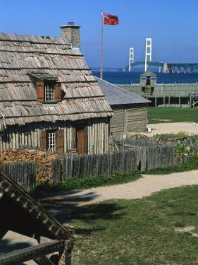 Colonial Michilimackinac, Mackinaw City, Michigan, USA by Michael Snell
