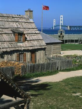 Colonial Michilimackinac, Mackinaw City, Michigan, USA by Michael Snell