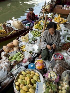 Damnoen Saduak Floating Market, Bangkok, Thailand, Southeast Asia, Asia by Michael Snell