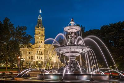 Fontaine de Tourny, Quebec City, Province of Quebec, Canada, North America by Michael Snell