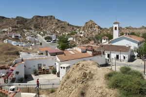 Guadix, Province of Granada, Andalucia, Spain by Michael Snell