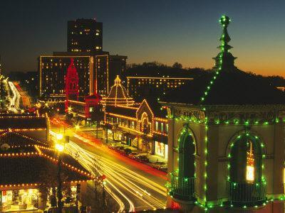 Holiday Lights, Country Club Plaza, Kansas City, Missouri, USA