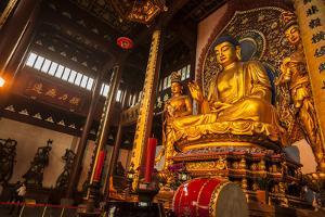 Lingyin Temple, Hangzhou, Zhejiang province, China, Asia by Michael Snell
