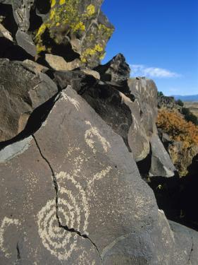 Petroglyphs, Santa Fe County, New Mexico, USA by Michael Snell