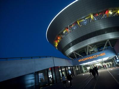 Porsche, Leipzig, Saxony, Germany, Europe by Michael Snell