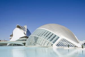 The City of Arts and Sciences, Valencia, Spain, Europe by Michael Snell