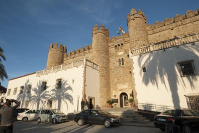 The Parador de Zafra, Zafra, Badajoz, Extremadura, Spain, Europe by Michael Snell